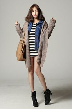 Natural Shawl Collar Cardigan