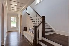 Brookhaven Custom Home - Contemporary Tudor - Traditional - Staircase - atlanta - by Blake Shaw Homes, Inc