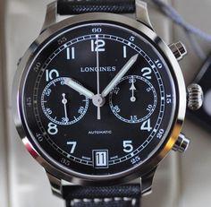 Longines Heritage Military 1938 Chronograph Watch