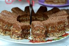 Prajitura durere – Famous Last Words Romanian Desserts, Romanian Food, Romanian Recipes, Sicilian Recipes, Turkish Recipes, Good Food, Yummy Food, Healthy Food, Scottish Recipes