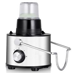 Costway 5in1 Juice Extractor Wide Mouth Stainless Steel Centrifugal Juicer Machines 2Speed Masticating Juicer Machine for Fruits and Vegetable with Blender Chopper Grinder and Food Processor *** Check this awesome product by going to the link at the image. (This is an affiliate link) Centrifugal Juicer, Juicer Machine, Fruit Juicer, Juice Extractor, Smoothie Blender, Juicers, Frozen Drinks, Specialty Appliances, Chopper