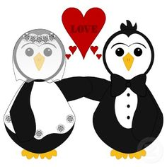 Penguins getting married :)