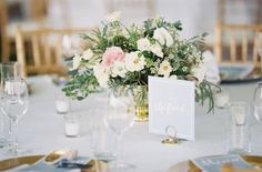 Photography : Michael and Carina Photography | Floral Design : Seaberry Farm | Event Planning : Sara Reynolds Events Read More on SMP: http://www.stylemepretty.com/2015/10/12/nautical-summer-wedding-in-maryland/
