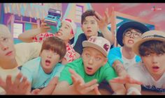 this is what you call an idol... derp-dol blockb ㅋㅋㅋ
