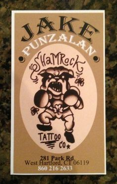 Tattoo Business Cards on http:// | tattoos picture tattoo business ...
