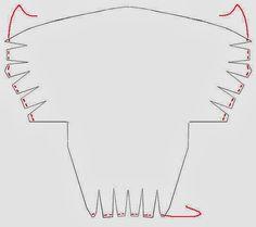 gráfico tutorial turbante