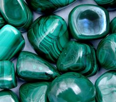 Malachite. Heart and Solar Plexus chakras. It is an excellent stone to strengthen the physical heart as well as the emotional aspect of the heart. One of the foremost stones for psychic protection. Having it within your aura promotes a strongly protective energy. This prevents negative psychic energy being able to come near you... and may prevent psychic attack.