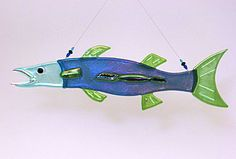 shark fused glass | Fused Glass Ornaments