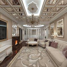 Дизайн гостиной в доме. Фото 2016  http://www.line-mg.ru/dizayn-doma-rezidenciya-rublevo