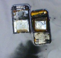 2nd iPhone Goes On Fire Explodes...