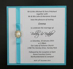 Looking for wedding invitations that will wow your guests? Check out these simple pearl blue wedding invitations. Buy these invites online or in store. With many different invitation designs and we can help with invitation wording. Weather you need to order invitations, diy invitations, just need invitation ideas, we can help with handmade wedding invitations, printed invitations, simple and elegant invitations and wedding cards.