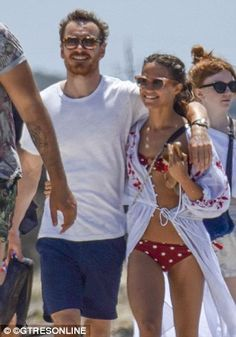 Alicia Vikander and Michael Fassbender loved-up in Ibiza   Daily Mail Online