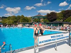 The Best Lido in Britain - Hathersage Swimming Pool has a portable pool hoist for disabled access.