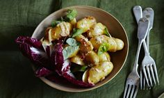 10 best: Warm potato salad with anchovy, chilli andcitrus