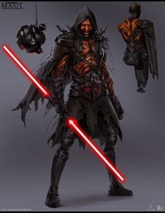 Back in 2011, I was fortunate enough to work with Lucas Arts and Redfly Studios to help develop the look direction for a new Star Wars IP that centered around Darth Maul. It took place in a future time line sometime after Return of the Jedi and was meant to have a darker, grittier tone. Unfortunately the project was conceived around the same time as the Disney acquisition. it was cancelled after 1 year of development. Definitely dream of getting the opportunity to work on another Star Wars…