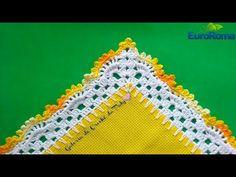 Barrado de Crochê com Canto #26 - YouTube
