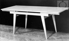 Soszyński Stanisław stół 1958 Katalog mebli modernistycznych Home Furniture, Furniture Design, Mid Century Design, Poland, Teak, Mid-century Modern, Retro, Table, Vintage