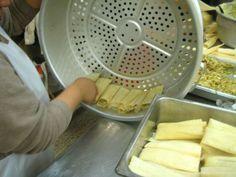Making Tamales   MARTHAANDTOM