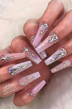 38+ creative and newest acrylic nails designs for This Year Part 12; acrylic nai... - Short acrylic nails coffin - #acrylic #coffin #Creative #designs #nai #nails #Newest #Part #Short #Shortacrylicnailscoffin #Year #AcrylicNailsAlmond Almond Acrylic Nails, Cute Acrylic Nails, Acrylic Nail Designs, Nail Art Designs, Rhinestone Nails, Bling Nails, Diamond Nail Designs, Nail Polish, Winter Nail Designs