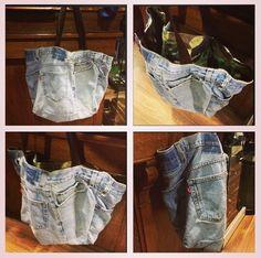 Custom bag military X jeans