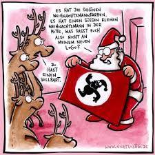 Bildergebnis für weihnachtsmann comic