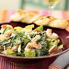 Low-Calorie Lunches | Shrimp Caesar Salad | CookingLight.com