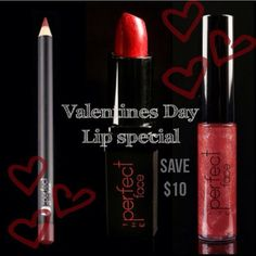 VALENTINES SALE AT www.TPFCOSMETICS.COM This #valentines day be ready to pucker up when he is, with our Valentines day #lip Trio. Retails when purchased separately for $57. Save $10 through February 14, 2016  and for only $47 receive a precise Indian Red #Lipliner, A luxurious Vixen #Lipstick and a sexy Socialite #Lipgloss. All Packaged together in a pretty pink and black gift bag. Hurry while supplies last.