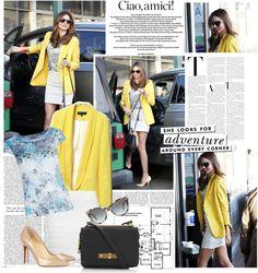 """Miranda Kerr Style (03.01.13)"" by d-staneva on Polyvore"