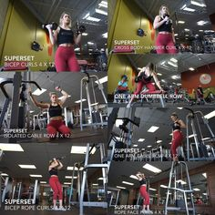 Back and biceps: Follow Whitney Simmons on Youtube