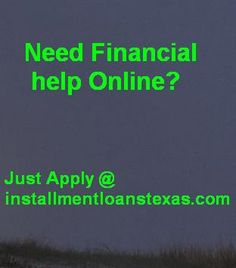 These loans like Payday Loans Texas, Installment Loans Texas, Instant Installment Loans etc. are specially meant for those people who reside in Texas and are facing money shortage in the mid months. Just apply with us and get loans very easily through online.