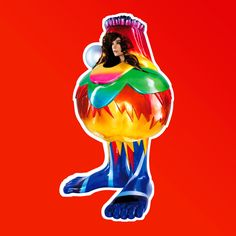 Björk's album artwork – in pictures Volta, 2007 This cover echoes the bright, bombastic sound of the singer's seventh album, and was a collaboration between the German fashion designer Bernhard Willhelm and British fashion photographer Nick Knight.  Photograph: One Little Indian