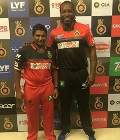 Sarfaraz khan & chris gayle
