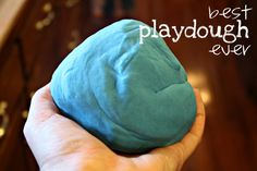 I Sew, Do You: Best Playdough Ever {a recipe}