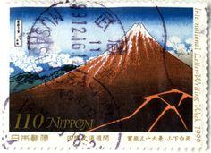 japanese postage stamps   Saturday, 11 June 2011