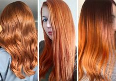 63 Hot Red Hair Color Shades to Dye for: Red Hair Dye Tips & Ideas Hair Color Highlights, Hair Color Dark, Cool Hair Color, Dyed Tips, Hair Dye Tips, Shades Of Red Hair, Bright Red Hair, Feathered Hairstyles, Cool Hairstyles
