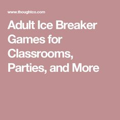 Adult breaker game ice