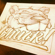 LUNCH SCRIBBLES 3 by Craig Patterson - Absorb81, via Behance