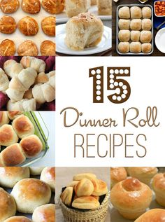 15 dinner roll recip