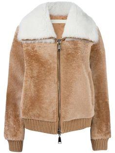 DROME zipped leather jacket. #drome #cloth #jacket