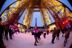 Paris, News   Plus que quelques jours pour profitez de la patinoire de la Tour Eiffel. Ell prend fin le 19 Février 2017  More than a few days to enjoy the Eiffel Tower skating rink. Ell ends on February 19, 2017   #paris #toureiffel #eiffeltower #patinoire