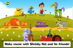 Kids can jam with the band to create their own music after reading the story.