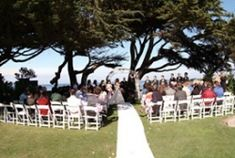 Plan your wedding with The Martine Inn! Lovers Point Park is a city waterfront park on a rocky point about ½ mile west of the Inn that has the Monterey Bay on both sides. Large areas of lawn that are relatively flat are available for chairs, etc. It is a busy park that has a beach and breakwater. There are large Monterey Cypress trees throughout the park and stairs down to the beach. It is a frequent location for surfers as the waves roll onto the sandy beach. Visit: www.martineinn.com