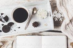 Styled cozy Chrismas  photo by Sentimental postman on @creativemarket