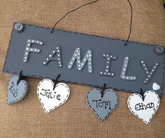 Family plaque xx