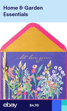 fff8257b9d7852 Wishing You a Beautiful Valentines Day 3D HM Flowers PAPYRUS CARD  8 Retail!