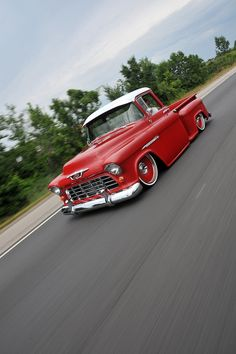 It took three trucks and a lot of time and energy to find the perfect recipe for this 1955 Chevy 3100.