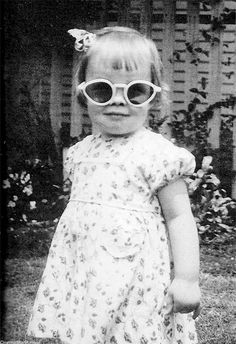 Little Diane Keaton photographed by her mother, Dorothy Hall.