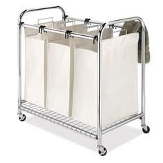 Shop for Whitmor Deluxe Triple Laundry Sorter. Free Shipping on orders over $45 at Overstock.com - Your Online Housewares Outlet Store! Get 5% in rewards with Club O! - 19604504