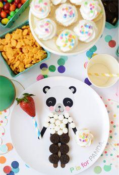 Dressable Panda Plat