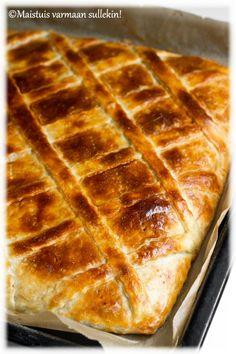 Maistuis varmaan sullekin!: Perinteinen lihapiirakka & Ruokatorstai leipoo Savoury Baking, Low Carb Keto, Macarons, Food Inspiration, Food To Make, Waffles, Food And Drink, Appetizers, Bread